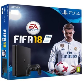 Sony PlayStation 4 Slim + FIFA 18 + 14 дни PS+ product