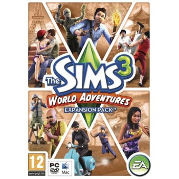 The Sims 3: World Adventures product