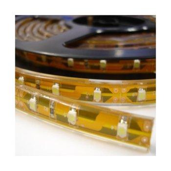LED лента ORAX LS-3528-60-Y-IP65, 4.8W/m, DC 12V, 90lm/m, 5m image