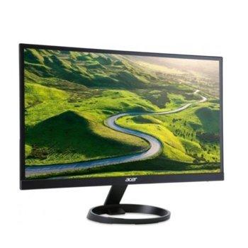 """Монитор Acer R241YBbmix (UM.QR1EE.B01), 23.8"""" (60.45 cm) IPS панел, 1ms, 100M:1, 250 cd/m2, HDMI, VGA, AUX  image"""