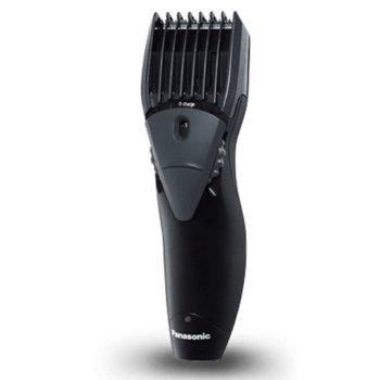 Тример за брада Panasonic ER-GB36-K503, миещ се, работа на батерия или включен към ел.жрежа, 13 настройки на дължината, време за бръснене 40 минути, черен image