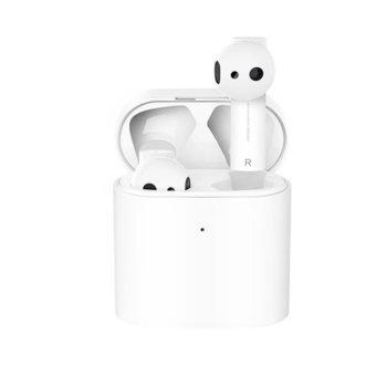 Слушалки Xiaomi Mi True Wireless Earphones 2, безжични, микрофон, Bluetooth, бели image