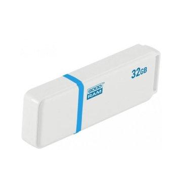 Памет 32GB USB Flash Drive, Goodram UMO2, USB 2.0, бяла image