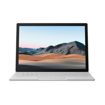 "Хибриден лаптоп Microsoft Surface Book 3 (SKW-00009)(сребрист), четириядрен Ice Lake Intel Core i7-1065G7 1.3/3.9 GHz, 13.5"" (34.29 cm) PixelSense Touchscreen Display & GF GTX 1650 4GB, (USB-C), 16GB, 256GB SSD, Windows 10 Home image"