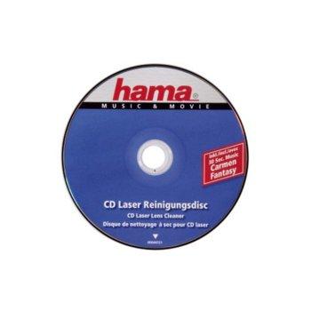 Почистващо CD за CD-ROM и DVD-ROM устройства, HAMA 44721 image