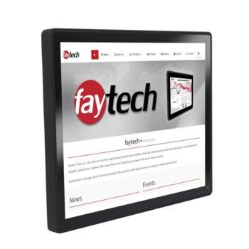 """Индустриален компютър Faytech 1010501757 FT17I5CAPOB, двуядрен Kaby Lake Intel Core i5-7300U 2.6/3.5 GHz, 17"""" (43.18 cm) SXGA Touchscreen Display, 8GB DDR4, 128GB SSD, 2x USB 3.0, Linux image"""