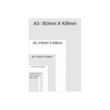 Фолио за ламиниране Monolith, размер A5, 154x216 mm, 125 mic, 100бр. image