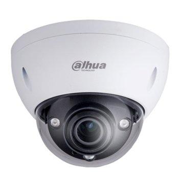 IP камера Dahua IPC-HDBW5331E, куполна камера, 3 MPixel, (2048x1536)/25FPS, обектив 1.85mm/F2.0, Video compression H.265+/H.265/H.264+/H.264, IR осветеност (до 15m), външна IP67, вандалоустойчива IK10, PoE (802.3af), 1 аудио вход/1 аудио изход, RJ-45 image