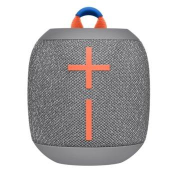Тонколона Logitech Ultimate Ears WONDERBOOM 2 (984-001562), 2.0, Bluetooth, micro USB, сива, водоустойчива image