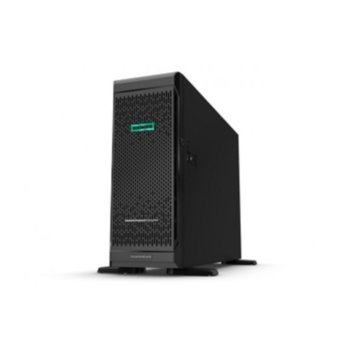 Сървър HPE ML350 G10 (PERFML350-004), осемядрен Intel® Xeon 4208 2.1/3.2 GHz, 32GB RDIMM DDR4, 4x Gigabit Ethernet, DisplayPort, 3x USB 3.0, без ОС, 2x 500W image