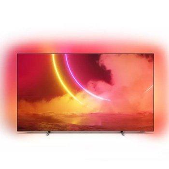 "Телевизор Philips 55OLED805/12, 55"" (139.7 cm) OLED 4K UHD Smart TV, HDR, DVB-T2/C/S2, Wi-Fi, Bluetooth, LAN, 4x HDMI, 2x USB, енергиен клас G image"