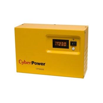 Инвертор CyberPower CPS600E, 420W/600VA, от DC 12V към AC 220V image