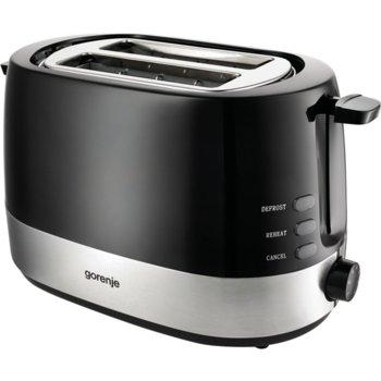Тостер Gorenje T 850 BK, 7 степени, термостат, 850 W image
