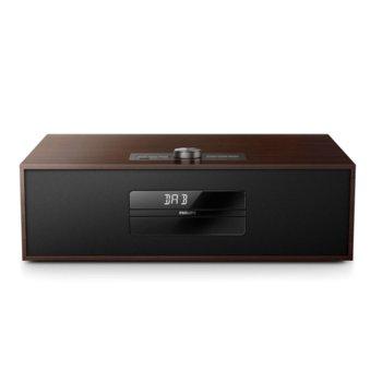 Микро аудио система Philips BTB4800, LED дисплей, DAB+ радио, Bluetooth, USB image