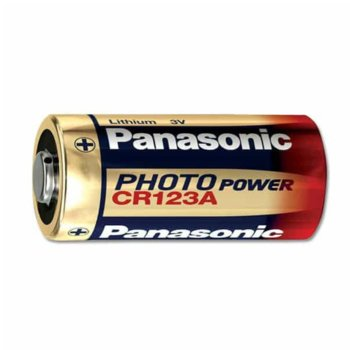 Батерия литиева Panasonic, CR123A, 3V, 1550 mAh, 1 брой image