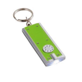 Фенер Hi!Dea Look, включва 2 батерии, зелен image