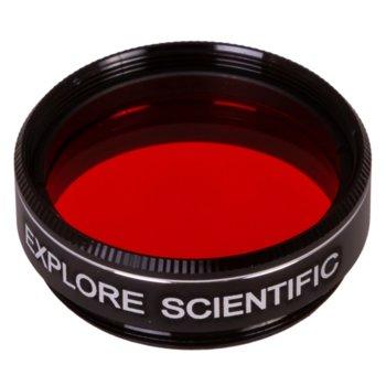 Филтър за телескоп Explore Scientific N47, оранжев филтър, 1.25mm диаметър на цилиндъра, анти-рефлективен image