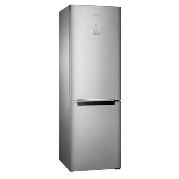Хладилник с фризер Samsung RB33N340NSA/EF, клас A+++, 315 л. общ обем, свободностоящ, 175 kWh/годишно, No Frost, сребрист image