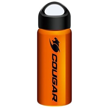 Термо бутилка COUGAR Steel Bottle 304 Stainless Steel CG3MSB1NXB0002, оранжева image
