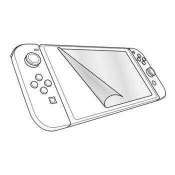 Защитно фолио (протектор) за Nintendo Switch Speedlink GLANCE Screen Protection Kit, с кърпичка за почистване image