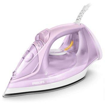 Парна ютия Philips GC2678/30, 2m кабел, 190 гр. парен удар, 40 г/мин. непрекъсната пара, 2400W, розова image