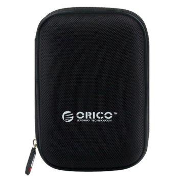 """Калъф за външен диск Orico PHD-25 за 2.5"""" (6.35 cm) HDD/SSD, място за аксесоари, черен image"""