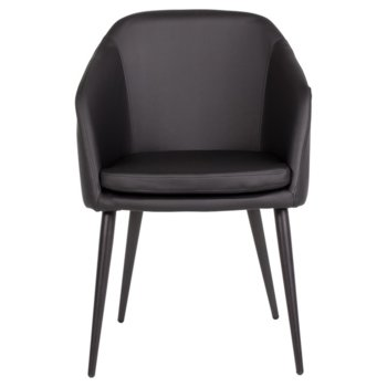 Офис кресло Carmen Carmen 2012, еко кожа, метал, черно image