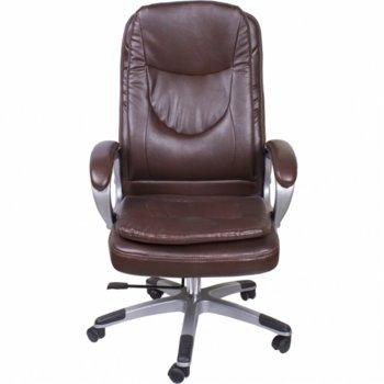 Мениджърски стол Okoffice Jen, еко кожа, до 130 кг image