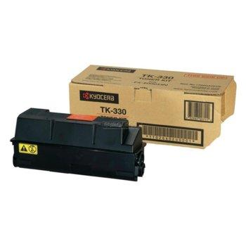 Тонер касета за Kyocera FS 4000 - Black - GraphicJet TK-330 - заб.: 20000k image