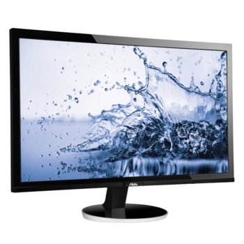 """Монитор AOC Q2778VQE, 27"""" (68.58 cm), TN, WQHD, 1 ms, 80 000 000:1, 350 cd/m2, HDMI, DVI, VGA, DisplayPort image"""