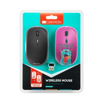 Canyon 2.4GHz wireless Optical Mouse Seal Cover product