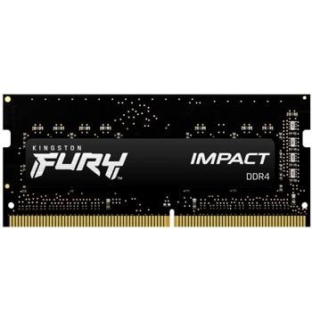 Памет 8GB DDR4 3200MHz, SO-DIMM, Kingston HyperX FURY Impact (KF432S20IB/8), 1.2V image