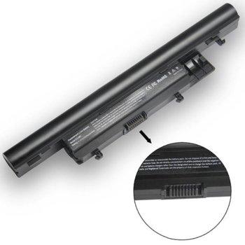 Батерия (заместител) за Лаптоп Gateway EC39C, EC49C, ID43A, ID49C, ID59C, Packard Bell TX86 S2, 6-cell, 11.1V, 5200mAh image