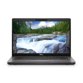"Лаптоп Dell Latitude 5400 (N038L540014EMEA), четириядрен Whiskey Lake Intel Core i7-8665U 1.9/4.8 GHz, 14.0"" (35.56 cm) Full HD Anti-Glare Display, (HDMI), 16GB DDR4, 256GB SSD, 1x USB 3.1 Type-C, Windows 10 Pro image"