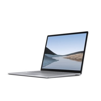 "Лаптоп Microsoft Surface Laptop 3 (VGY-00008)(сребрист), четириядрен Ice Lake Intel Core i5-1035G7 1.2/3.7 GHz, 13.5"" (34.29 cm) WQHD Multi-Touch Glare Display, (USB C), 8GB LPDDR4, 128GB SSD, Windows 10 Home image"