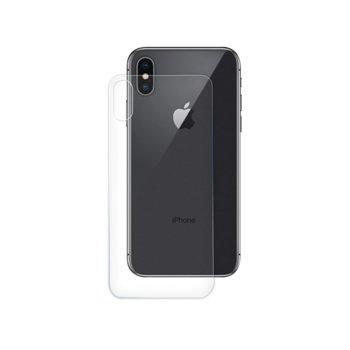 Протектор от закалено стъкло /Tempered Glass/ за Apple iPhone X, 0.15mm за гръб image