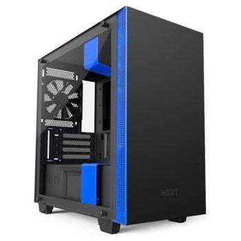 NZXT H400i Black/Blue (CA-H400W-BB) product