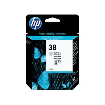 ГЛАВА HEWLETT PACKARD Photosmart Pro B9180 Professional Photo Printer - Light Grey Pigment Ink - P№ C9414A - заб.: 27ml. image