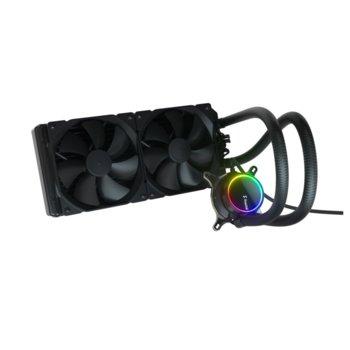 Водно oхлаждане за процесор Fractal Design Celsius+ S28 Dynamic, съвместимост със сокети Intel LGA1200/1150/1151/155/1156/1366/2011/2011-3/2066 & AMD AM2/AM2+/AM3/AM3+/AM4/FM1/FM2/FM2+/TR4 image