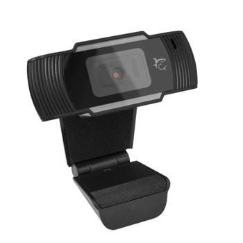Уеб камера White Shark Owl GWC-004, микрофон, 1920x1080 / 30fps, двойна леща с анти-рефлектно покритие, USB, черна image