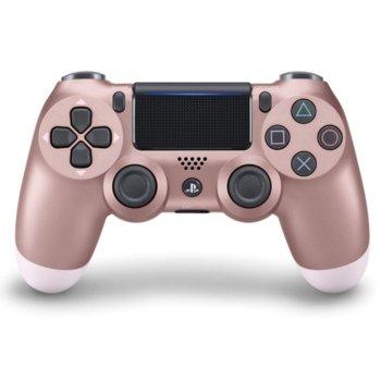 Геймпад PlayStation DualShock 4 V2 - Rose Gold, безжичен, за PS4, розово злато image