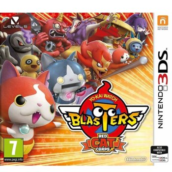 Игра за конзола Yo-kai Watch Blasters - Red Cat Corps, за Nintendo 3DS image