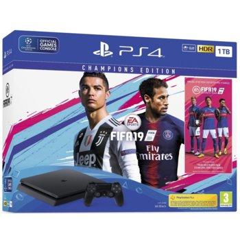 Sony PlayStation 4 Slim 1TB + FIFA 19 Champions product