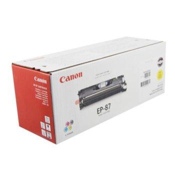 Касета за Canon LBP-2410 Series - Yellow - EP-87 - Заб.: 4 000k image