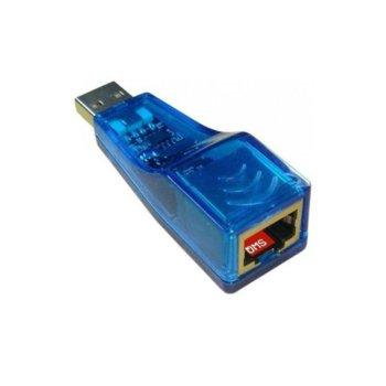 Мрежови адаптер DF17016, USB към Lan 100 image