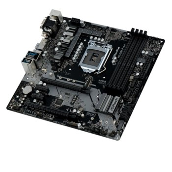 Дънна платка ASRock H370M Pro4, H370, LGA1151, DDR4, PCI-E (HDMI&DVI)(CFX), 6x SATA 6Gb/s, 2x M.2 Socket, 1x USB 3.1 (Type-C), Micro ATX image