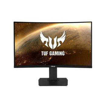"""Монитор Asus TUF Gaming VG32VQ (90LM04I0-B01170), 31.5"""" (80.1 cm) VA панел, 144Hz, WQHD, 1ms, 400 cd/m2, DisplayPort, HDMI, 3.5mm Mini-Jack image"""