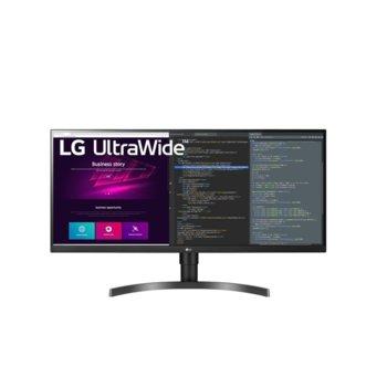 """Монитор LG 34WN750-B, 34"""" (86.36 cm) IPS панел, 5ms, UWQHD, 300 cd/m2, DisplayPort, HDMI, USB image"""