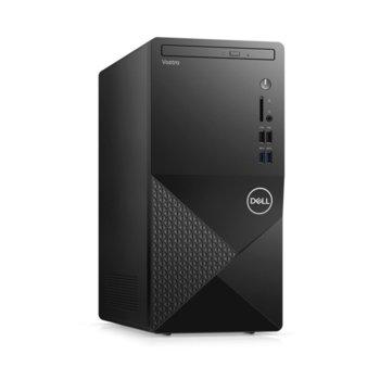 Настолен компютър Dell Vostro 3888 MT (N607VD3888EMEA01_2101_UBU), осемядрен Comet Lake Intel Core i7-10700F 2.9/4.8 GHz, Nvidia GeForce GT 730 2GB, 8GB DDR4, 512GB SSD, 4x USB 3.1, Linux image