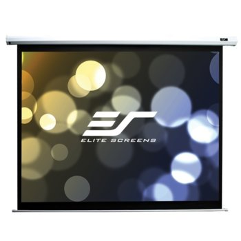 "Екран Elite Screens Saker SK120XVW-E9, за стена, White, 2438 x 1829 мм, 120"" (304.8 cm), 4:3 image"